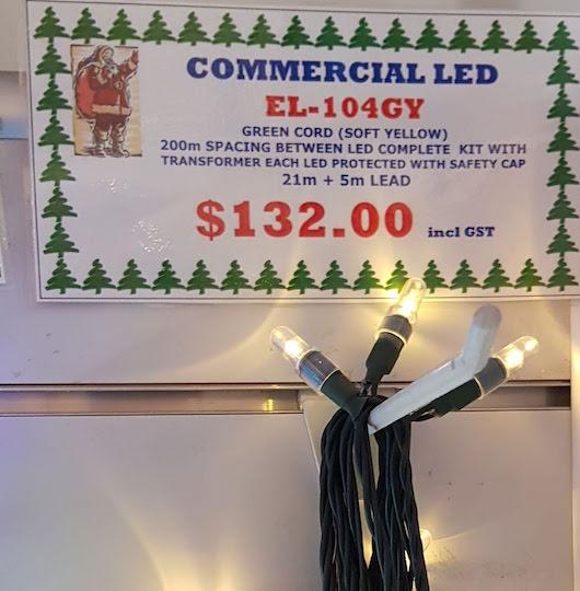 Commercial Light 104 warm white