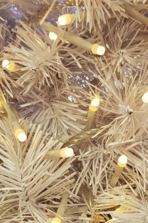 Wedding and White Christmas Tree LED Micro Lights x 160 Warm White with Translucent cord
