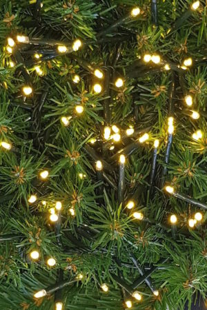 200 LED 2 way Connecting String Lights for Christmas Tree or Garland Warm White