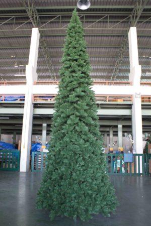 16.5ft Pencil Pine Christmas Tree Green 5.03m