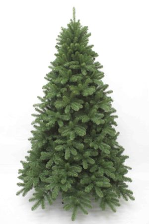 8ft Scandia Spruce Christmas Tree Hinged Green 2.44m