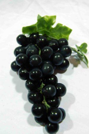 Fruit Grape Black Round