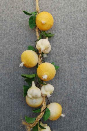 Fake Vegetable Garlic & Onion String