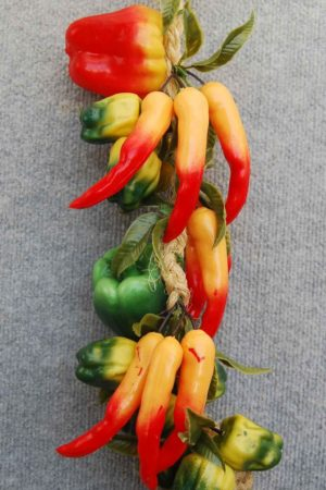 Fake Peppers & Chilli String