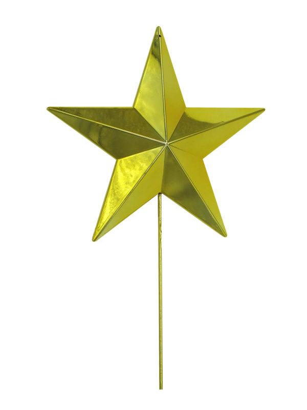 Star Tree Topper Gold