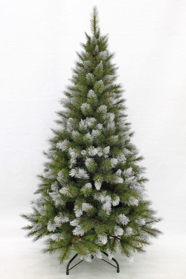 5ft Pittsburgh Spruce Christmas Tree Green Frosted 1.52m