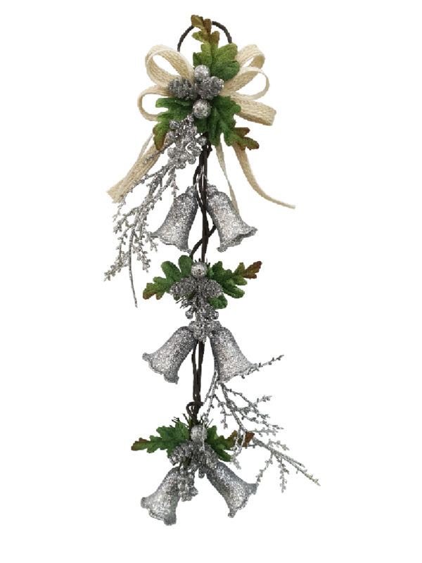 Bell Mini Garland, Christmas Decoration