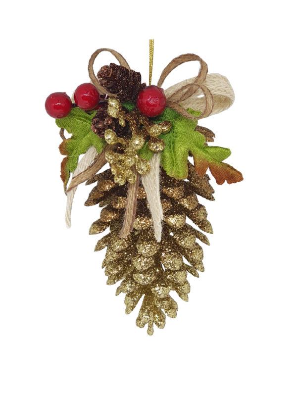 Pine Cone Christmas Decoration