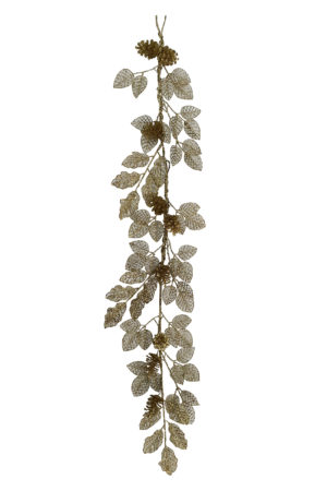 Mini Pine Cone Garland Christmas Decoration