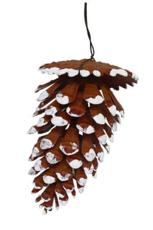 5 inch Pine Cone Artificial 13cm Bag 5 pieces