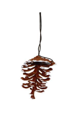 2.5 inch Pine Cone Artificial 6cm Bag 10 pieces