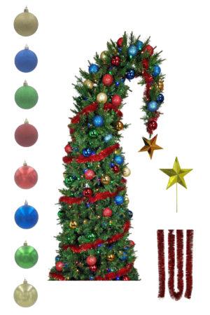 Decoration Kit – Santa's Hat Tree