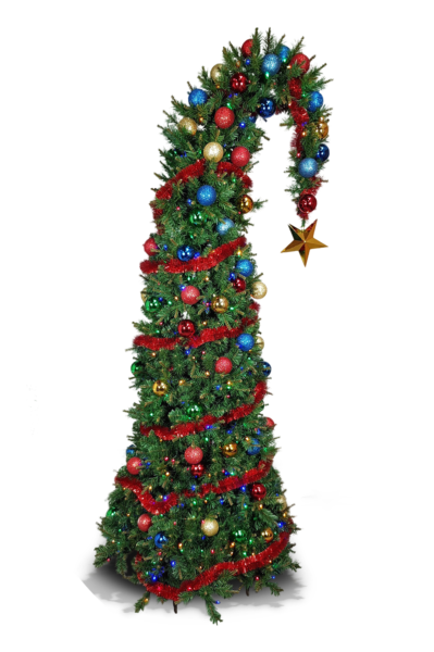 Santa Hat Tree