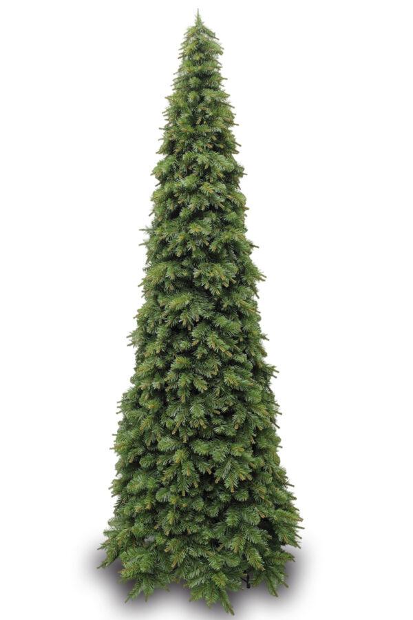 8.5ft Slim Glendale Pine Christmas Tree Green 2.59m