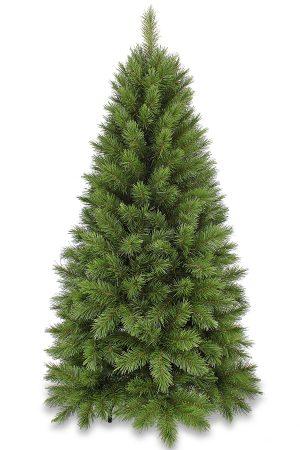 5ft Slim Vienna Spruce Christmas Tree Hinged Green 1.52m