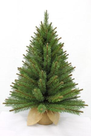3ft Glendale Pine in Burlap base 91cm