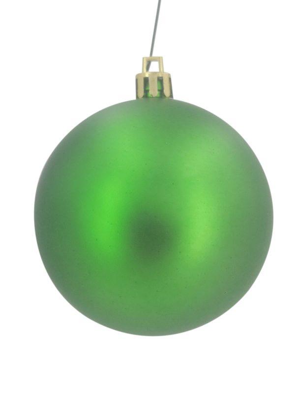 Christmas Ball 70mm Matt Green