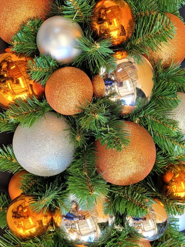 Copper and Silver Ball Decoration Kit